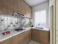 Панелі на кухонний фартух ПЕТ 3д стіна з кладкою цегли, з двостороннім скотчем 62 х 205 см