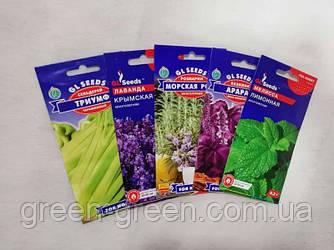 Набір насіння Пряних і запашних рослин №1 (набір з 5 шт)