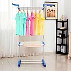 Вешалка-стойка, сушилка, органайзер для вещей Spray Painting Clothes Hanger до 40 кг 364-CR