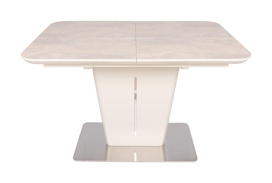 Стол раскладной Alabama (120/160*80) керамика бежевый ТМ Nicolas