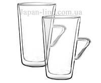 Набор кофейных чашек с двойным дном Filter Logic CFL-675B Latte - 2 шт. 400 мл