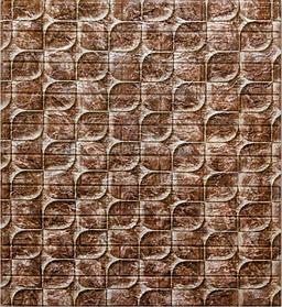 Самоклеющаяся 3D панель, декоративные стеновые 3Д панели Чешуя