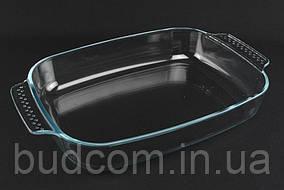 Форма для запекания, жаропрочное стекло, прямоугольная с ручками  32 х 24 х 6 см. 3,1 л А-Плюс