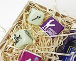 """Набор для взрослых """"Позы любви и 100 наших желаний"""" - 100 пикантных заданий, кубики с позами, шоколад камасута, фото 10"""