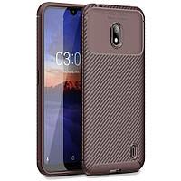 Чохол Carbon Case для Nokia 2.2 Brown