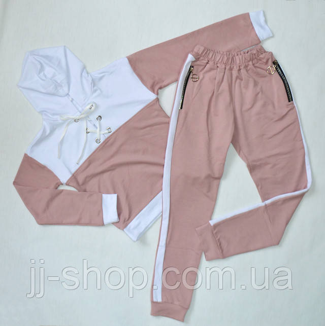 спортивный прогулочный костюм для девочки