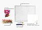 Картина по номерам 40х50 см Brushme Дама с фиолетовым пионом (GX 37546), фото 4