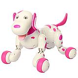 Робот-собака 777-338 Рожева на радіоуправлінні. Виконує понад 20 команд, фото 2