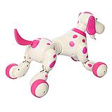Робот-собака 777-338 Рожева на радіоуправлінні. Виконує понад 20 команд, фото 4