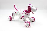 Робот-собака 777-338 Рожева на радіоуправлінні. Виконує понад 20 команд, фото 5