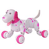 Робот-собака 777-338 Рожева на радіоуправлінні. Виконує понад 20 команд, фото 3