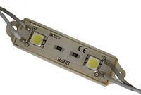 Герметичные светодиодные модули - 2 светодиода 5050 ЗЕЛЕНЫЙ