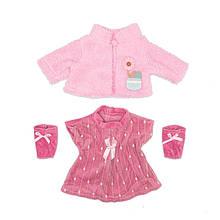 Набор одежды для куклы платье курточка носочки Беби Борн Беби Анабель
