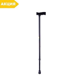 Трость, палочка для ходьбы с Т-образной ручкой B2010 (тросточка опорная)