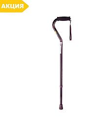 Трость, палочка для ходьбы с мягкой ручкой и ремешком B1060, NOVA (тросточка опорная)