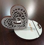 """Подарок на день 8 марта. Подставка для телефона """"Сердечко"""" и ➕ Подарочная коробка, фото 2"""