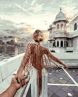 Картина по номерам 40х50 см Brushme Следуй за мной.Озеро Удайпур (GX 21872), фото 1