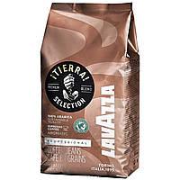 Кава в зернах Lavazza Tierra 1 кг.