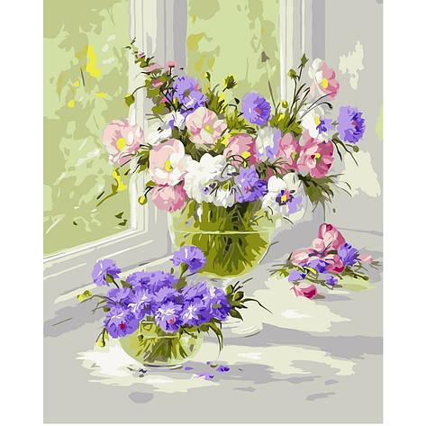 Картина по номерам VA-0275 Нежные цветы, 40х50 см Strateg, фото 2