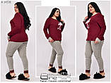 Жіноча піжама фліс + махра ( Туреччина ) Розміри 42.44.46.48.50., фото 4
