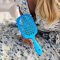 Гребінець для волосся Janeke 1830 Superbrush, блакитна