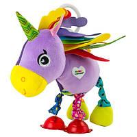 Розвиваюча іграшка Lamaze Рожевий єдиноріг (LC27561)