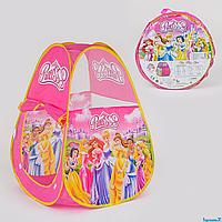 Дитячий намет-курінь Принцеси HF 012 (72/2) 70х70х90 см, в сумці