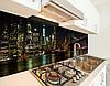 Кухонный фартук заменитель стекла ночной мост в Бруклине, с двухсторонним скотчем 62 х 205 см, фото 3