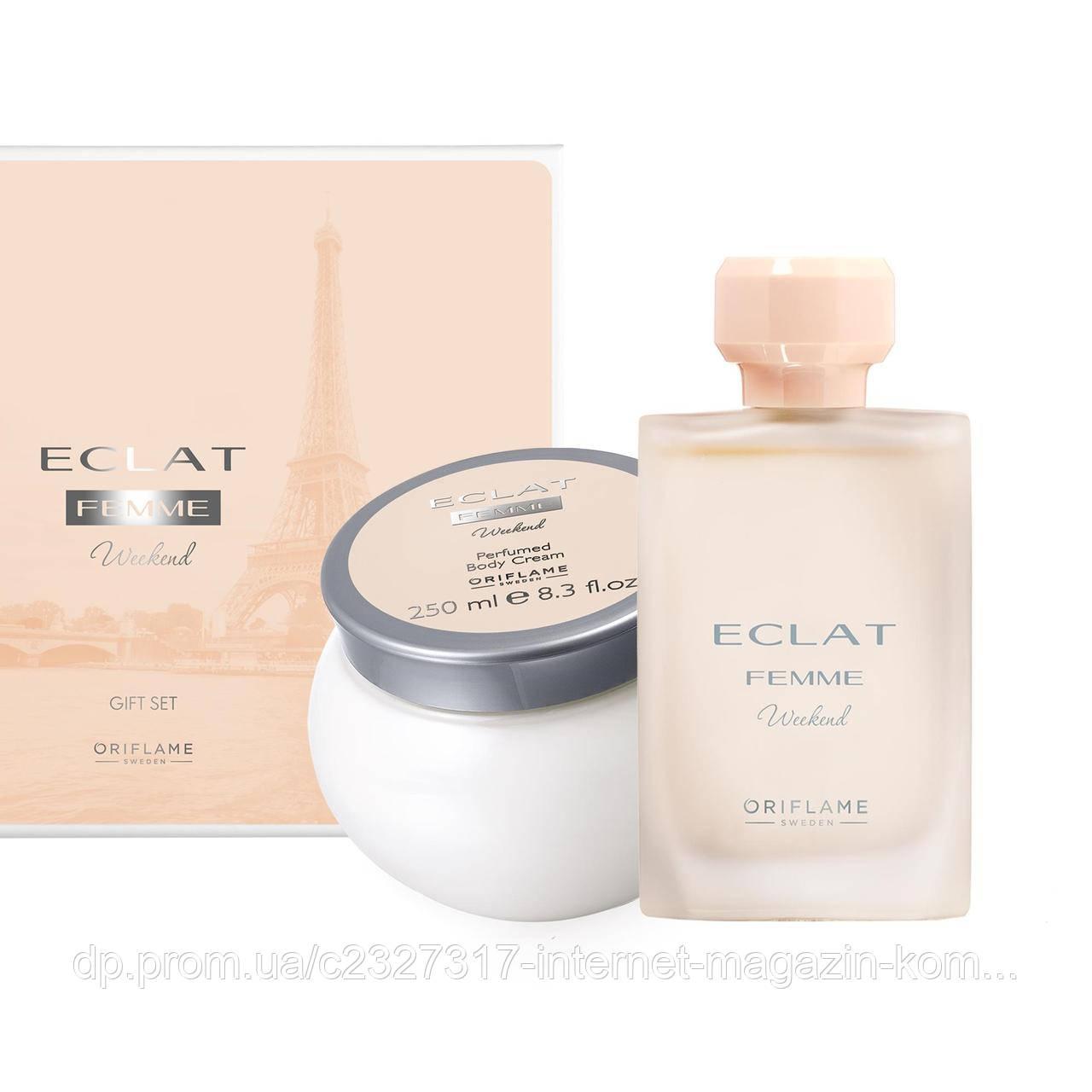 Подарунковий набір для жінок Eclat Femme Weekend Екла Фам Вікенд Oriflame Оріфлейм