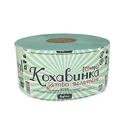 """Туалетная бумага """"Кохавинка"""" Велетень-Джамбо, зеленый 190х90"""