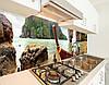 Кухонная панель на стену жесткая Азия острова, с двухсторонним скотчем 62 х 205 см, фото 3