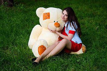 Плюшевий Ведмедик Потап 150 см Кремовий