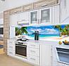 Панели на кухонный фартук ПЭТ берег у океана, с двухсторонним скотчем 62 х 205 см, фото 5