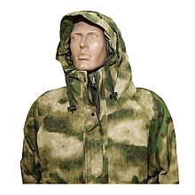 Куртка вітро-вологозахисна з флісовою підстібкою камуфляж MIL-TEC AT FG 10615059