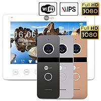 NeoLight OMEGA+ HD WF и SOLO FHD (NeoKIT HD + WF Graphite/Silver комплект IP видеодомофона)