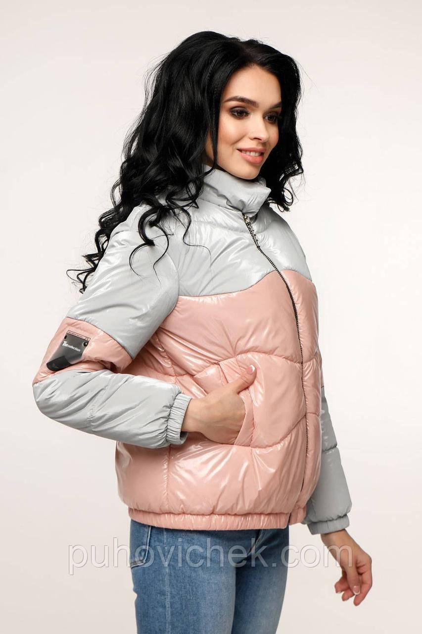 Молодежные женские куртки модные размер 44-54