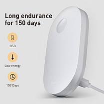 Лампа-нічник індукційна з датчиком руху BASEUS Sunshine series human body Induction, фото 3