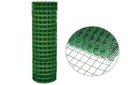 Садова решітка пластикова СР-50/1/20м хакі, зелена