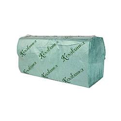 "Бумажные полотенца ""Кохавинка"" V типа 23х25см (170шт) зеленые"