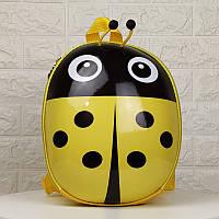 Рюкзак детский в виде божьей коровки(желтый), фото 1