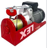 Тельфер с кареткой LEX 1000кг 2кВт лебедка с передвижным механизмом Качество! Гарантия 1 год!