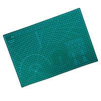 Самовідновальний килимок для різання А3 45*30 см, макетний килимок з розміткою для рукоділля, макетный коврик