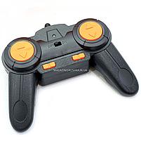 Трюковая машинка на радиоуправлении Амфибия аккумулятор, ездит по воде, поворот 360, оранжевый (LH-C013), фото 9
