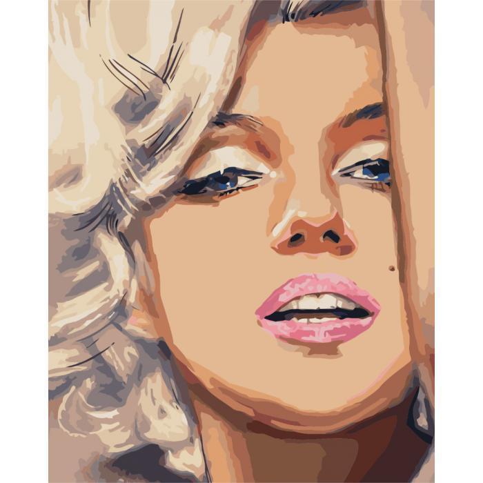 Картина рисование по номерам Идейка Волнующая откровенность 40х50см КНО2666 набор для росписи, краски, кисти,