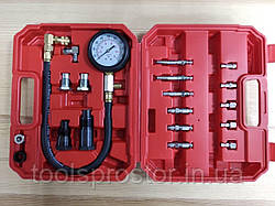 Компрессометр дизельний VERKE V86257 : Діапазон вимірювань 0-70 bar