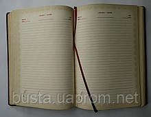 Щоденник недатований А5 штучна шкіра, фото 3