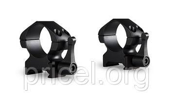 Кольца Hawke Precision Steel 1 дюйм, weaver, средние, быстросьёмные (23011)