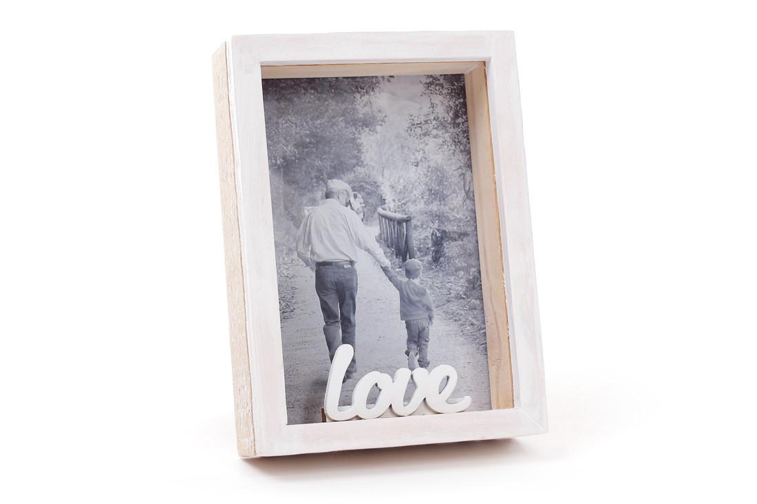 Фоторамка об'ємна настільна Love 14 лютого