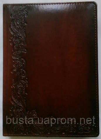Щоденник недатований А5 штучна шкіра, фото 2