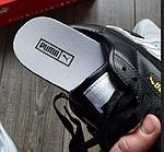 Женские весенние кроссовки Puma cali (черно-белые) спортивные демисезонные кеды, фото 8